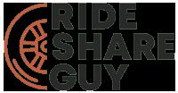 Ride share guy logo