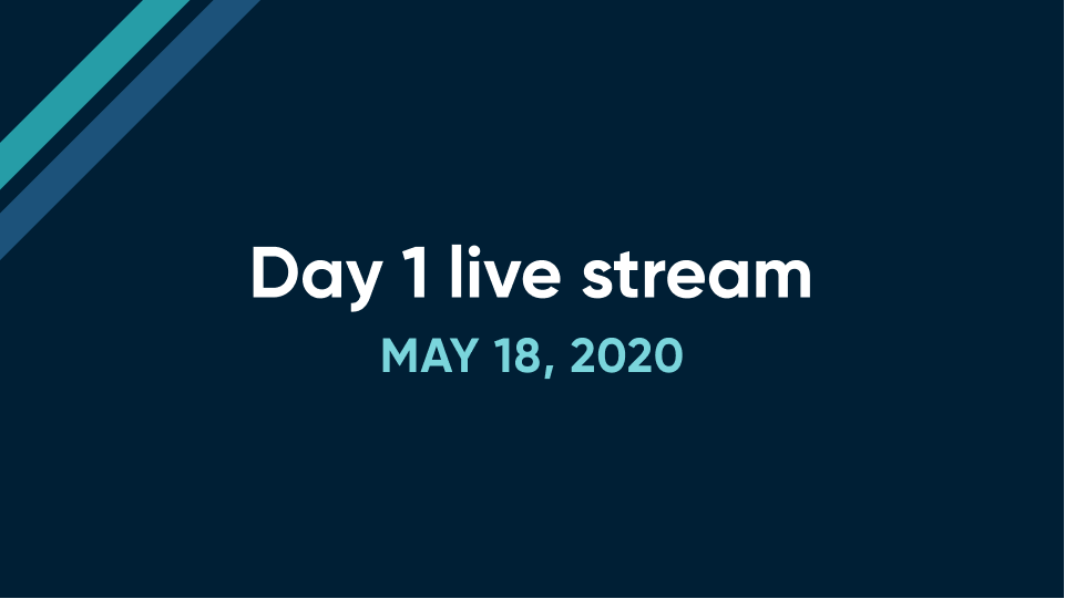 Day 1 live stream