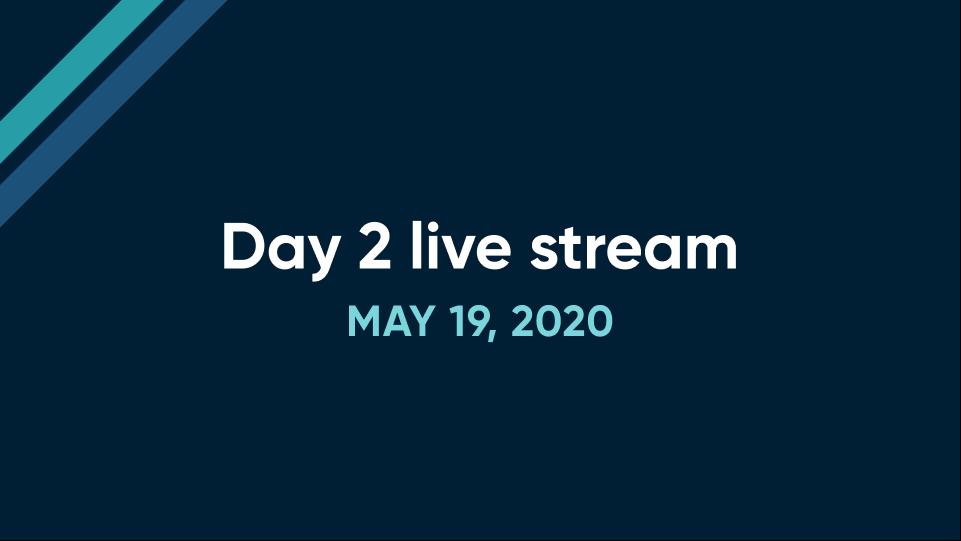 Day 2 live stream