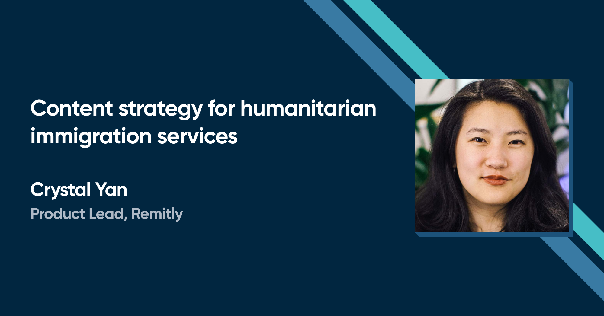 Crystal Yan - Content strategy for humanitarian immigration services