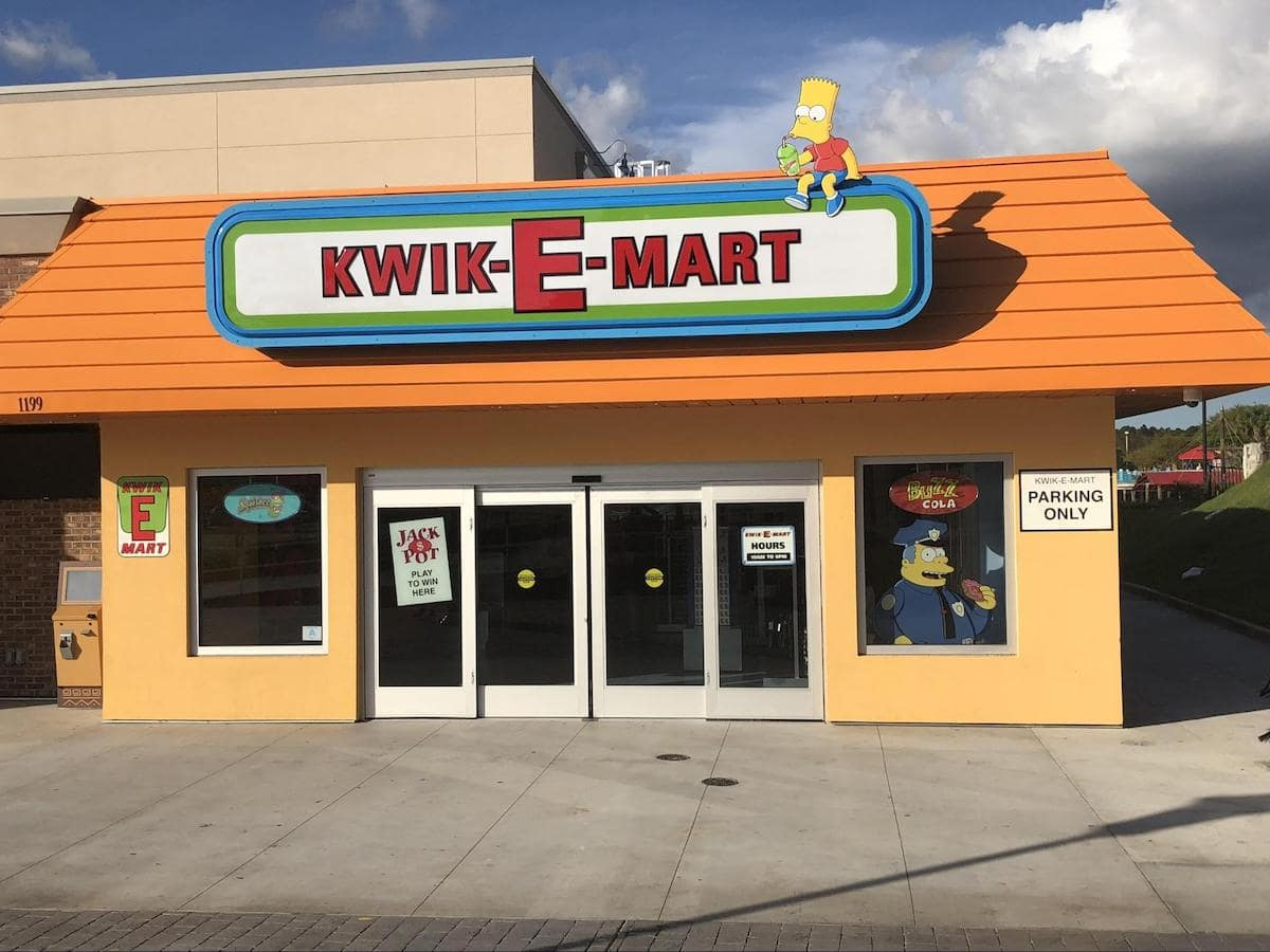 Among highly successful experiential marketing examples is that of 7-Eleven turned Kwik-E-Mart complete with Homer's favorite donuts.