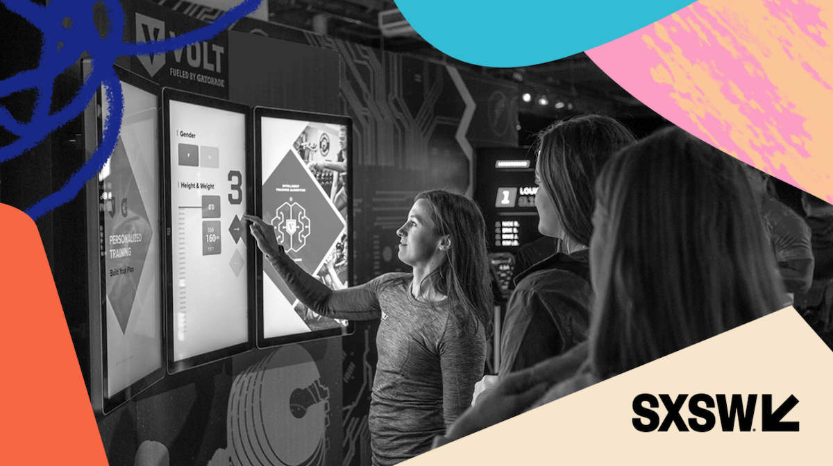 Multiple experiential marketing examples show that existing brand relationships can lead to events beneficial to both, as with this Gatorade pop-up at SXSW.