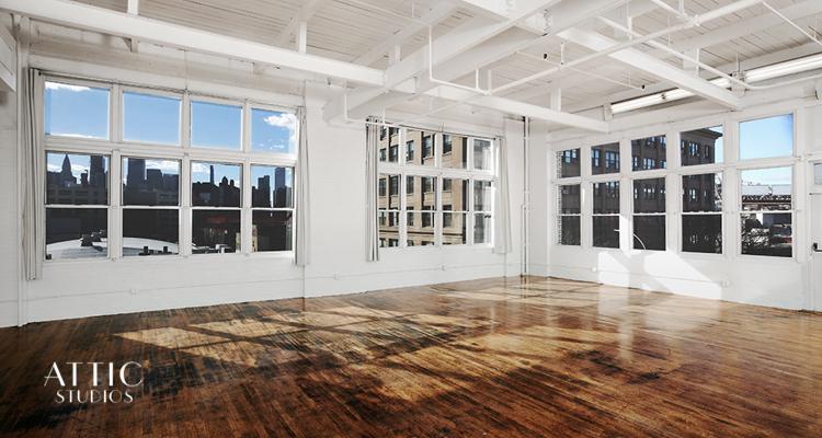 Attic Studios - The Best Photo Studios in NYC