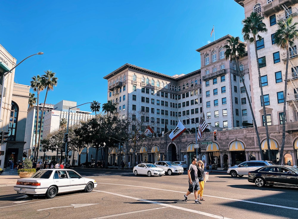 Most of the major talent agencies hold offices around Beverly Hills.