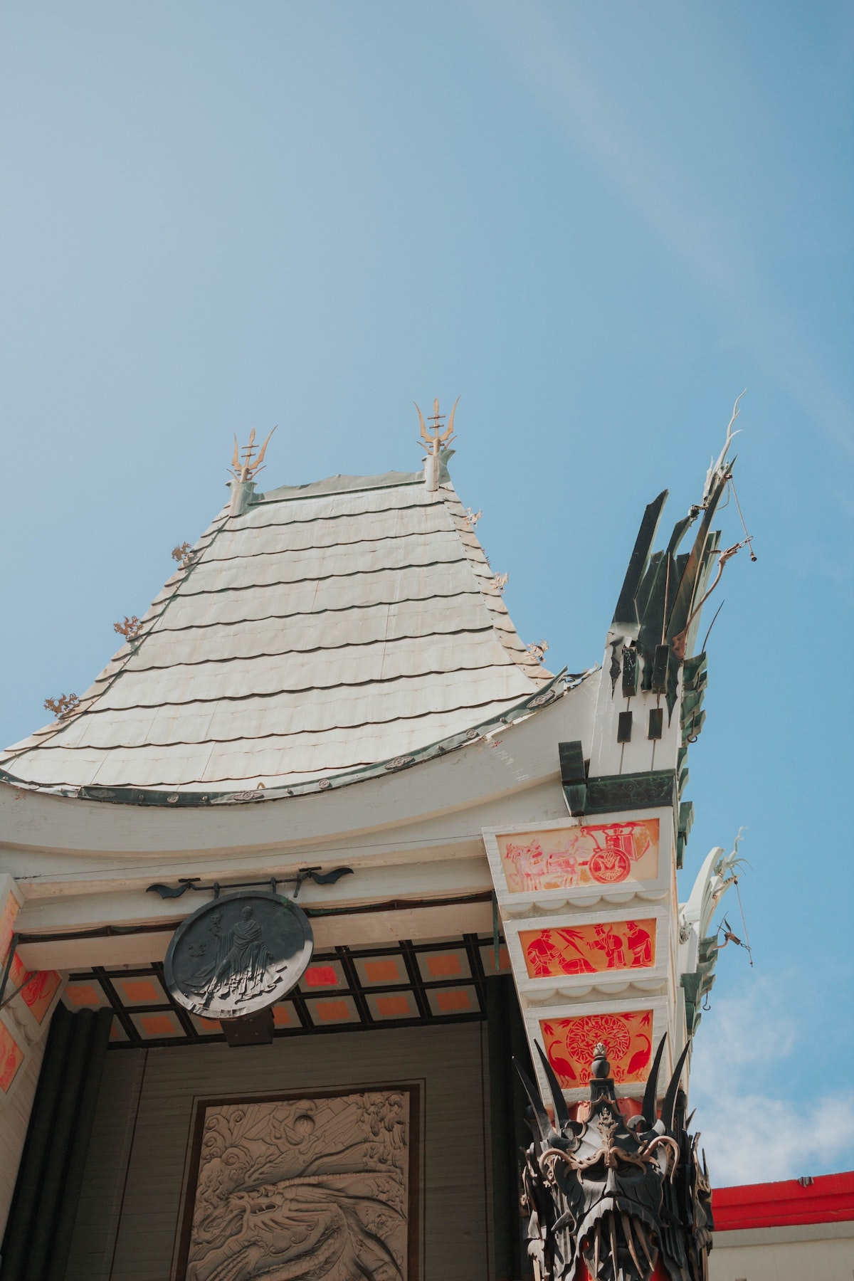 You don't need a separate Hollywood film permit to shoot outside the Chinese Theater.