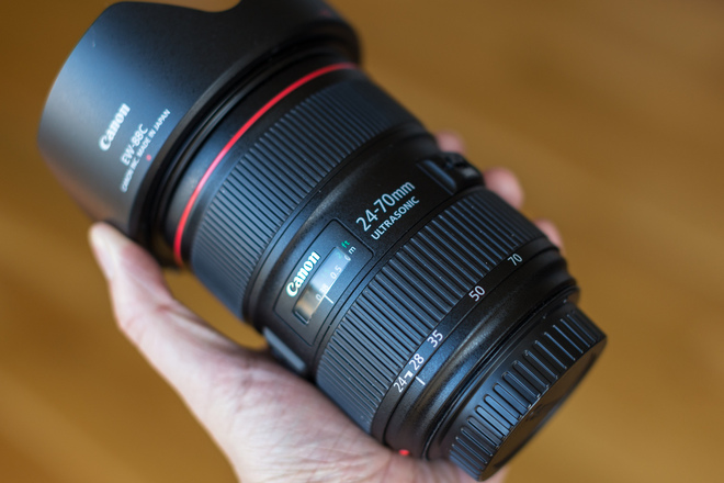 The Canon EF 24-70mm f/2.8 II USM - Most Rented ShareGrid Equipment 2019