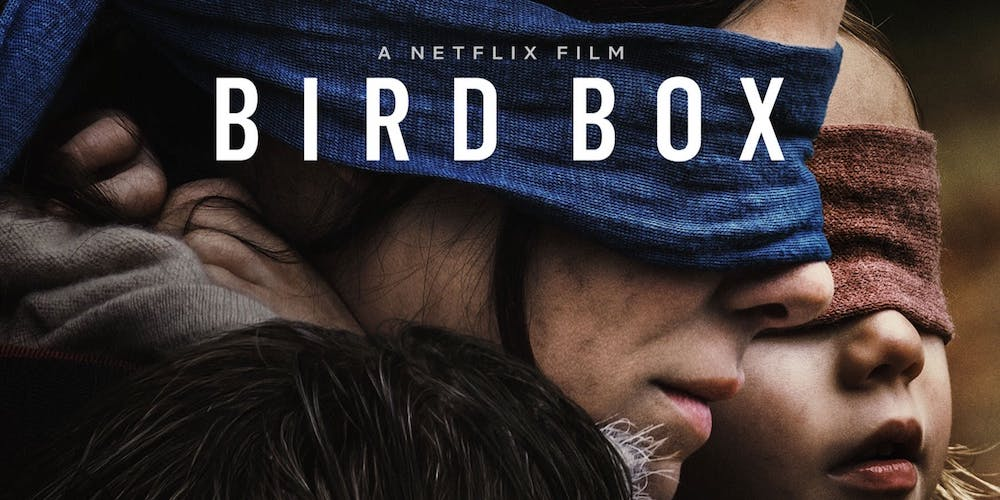 Bird Box was also based on a novel of the same name.