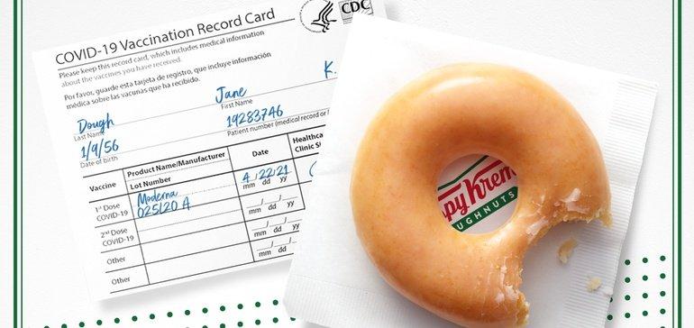 Best Experiential Events - Krispy Kreme Sweet Incentive - Wrapbook