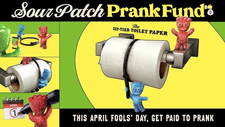 Best Experiential Events - Sour Patch Prank Fund - Wrapbook