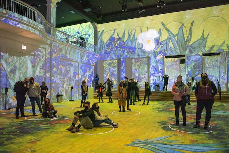 Best Experiential Events - Van Gogh Immersive Experience - Wrapbook