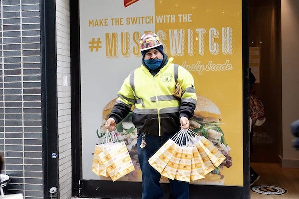 Best Experiential Events - French's MustSwitch Sandwich Campaign - Wrapbook