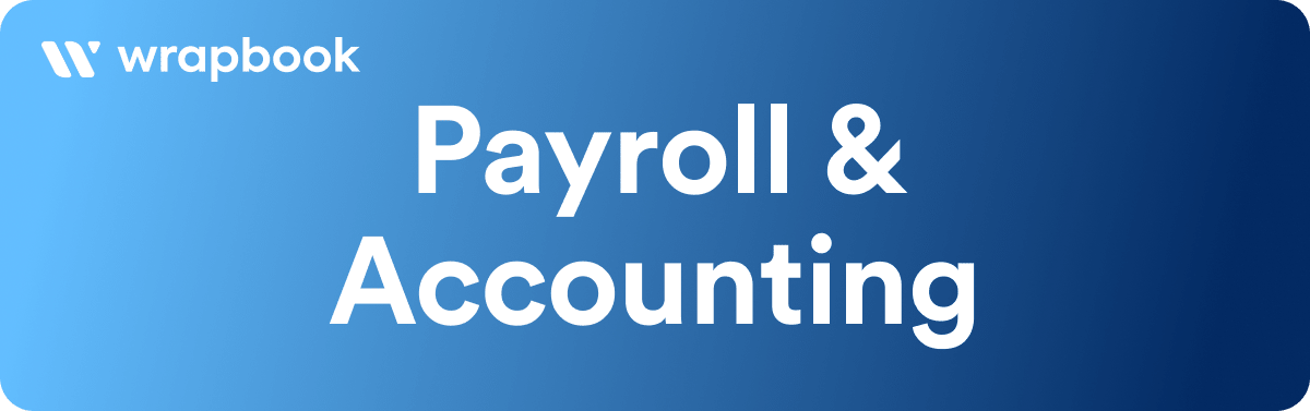Best Filmmaking Software & Tools - Payroll and Accounting Services - Wrapbook