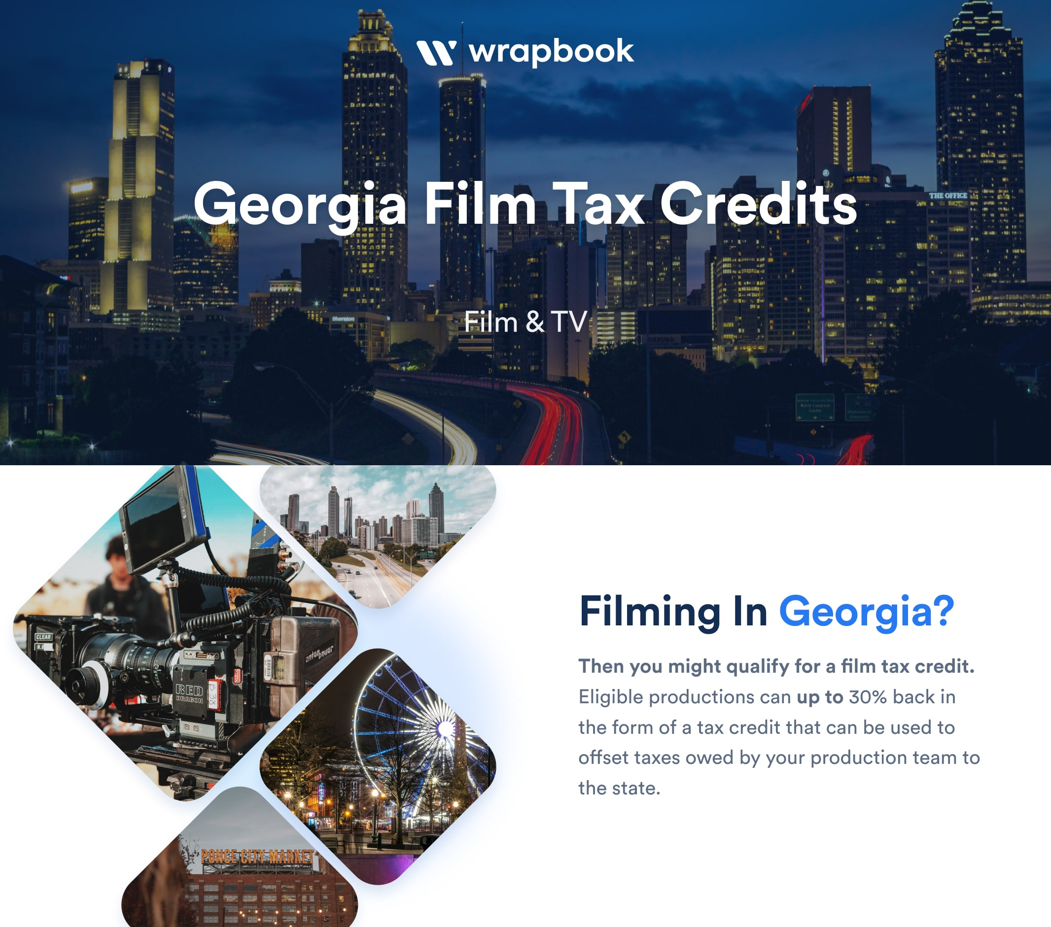 Georgia Film Tax Credit - Infographic - Wrapbook