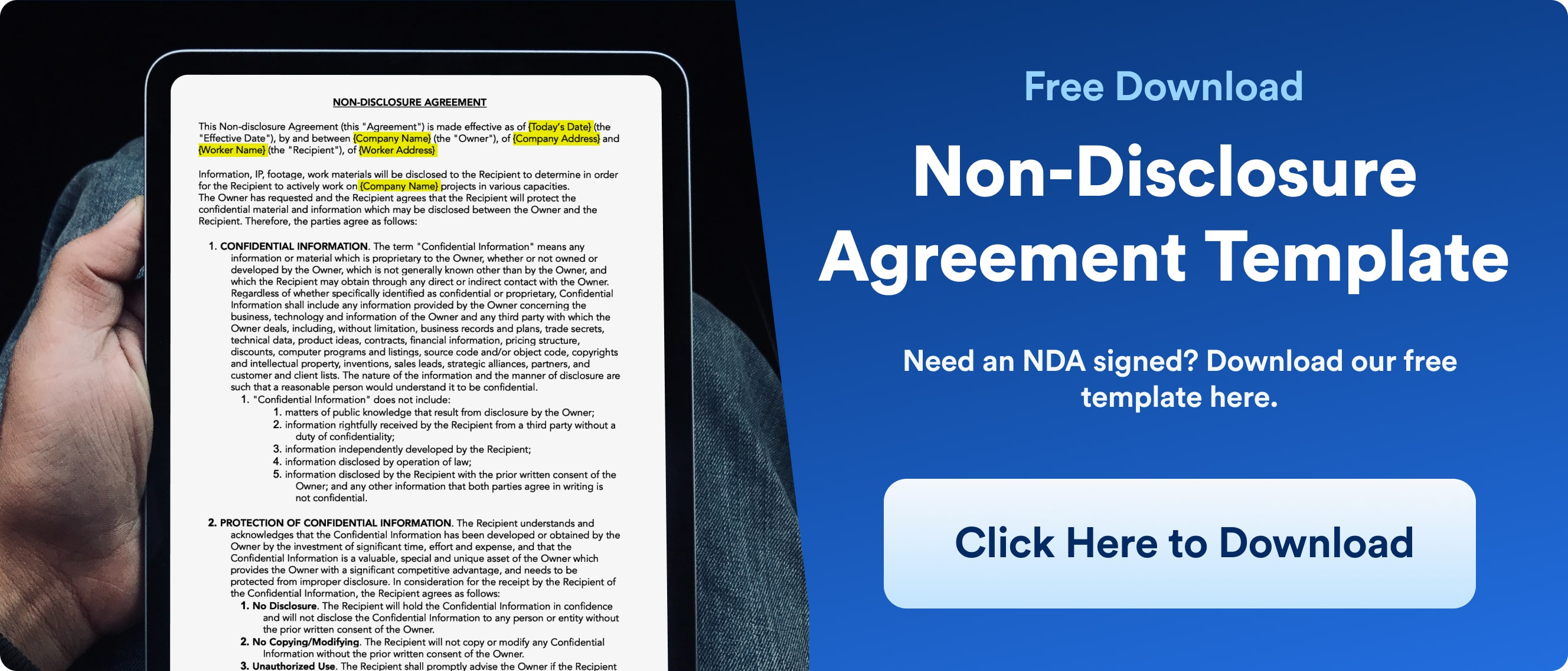 Non Disclosure Agreement - Download - Wrapbook