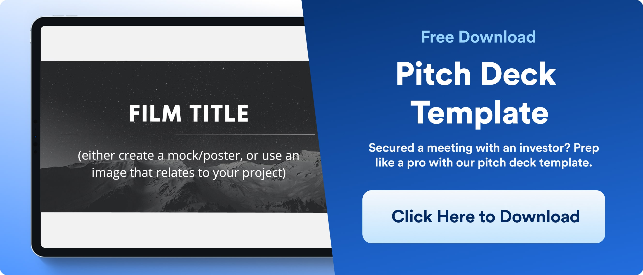 Pitch Deck Template - Download - Wrapbook