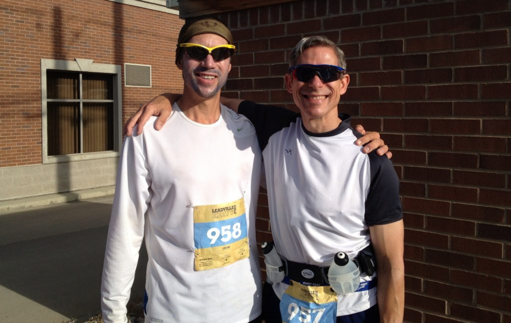 Jack and Matt McGowan in Leadville