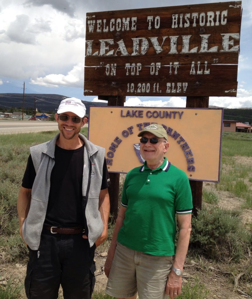 Getting ready for the Leadville Heavy Half