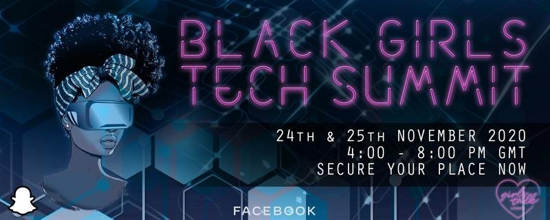 Black Girls Tech Summit header