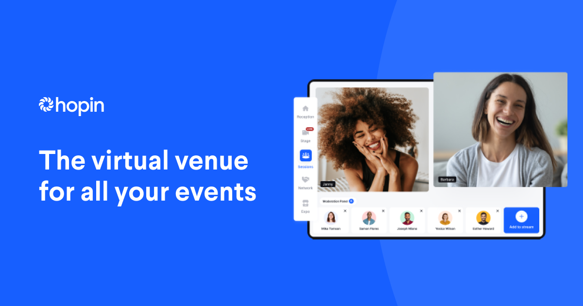 Event Technology Platform for Virtual, Hybrid, and Online Experiences | Hopin