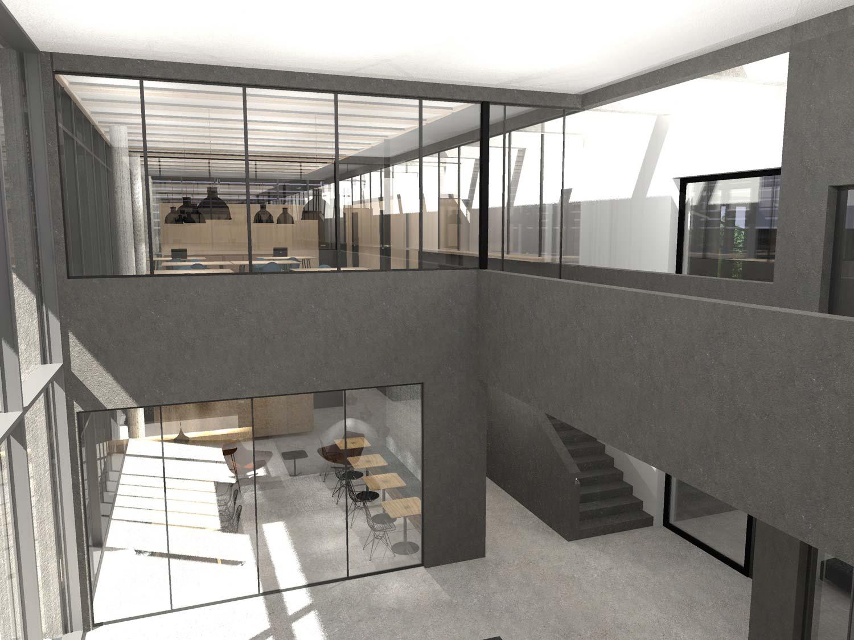Büro mit intelligenten LED von SchahlLED