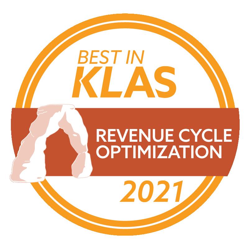 Best in KLAS 2021 Revenue Cycle Optimization