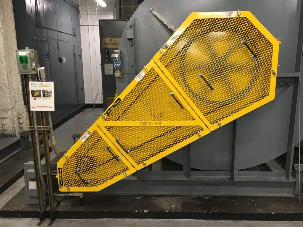 Custom V-Belt Guard