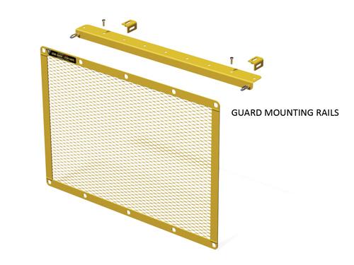 Flat Guard Mounting Rails