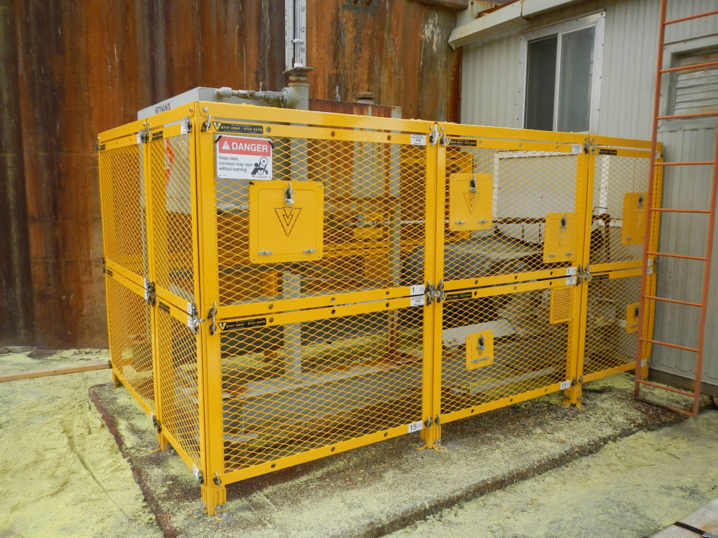 Modular Barrier Guard