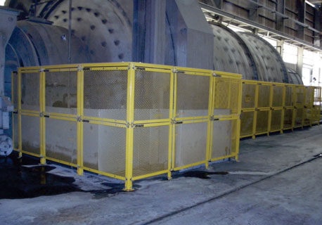 Grinding Mill Barrier Guards