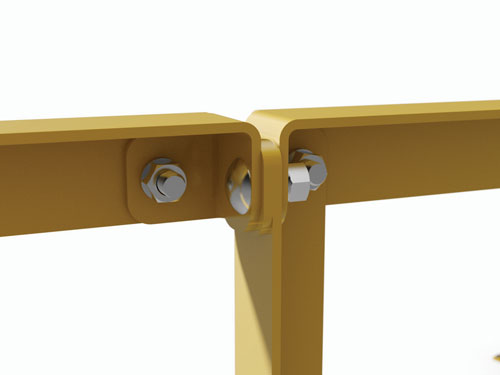 Modular Handrails Attached Together Drawing