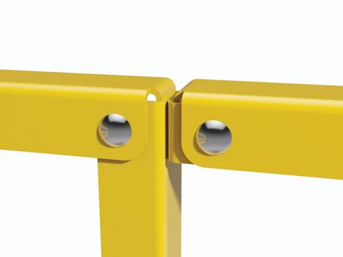 Modular Handrails Bolt Together