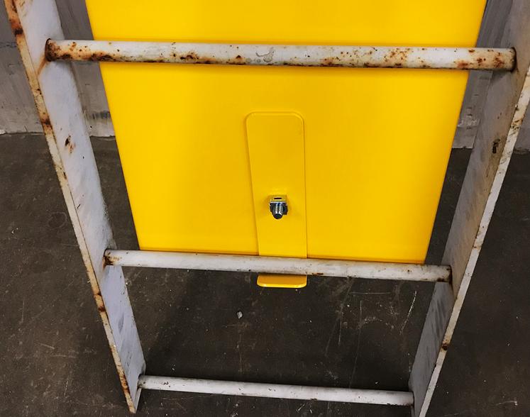 Ladder Guard Bottom View