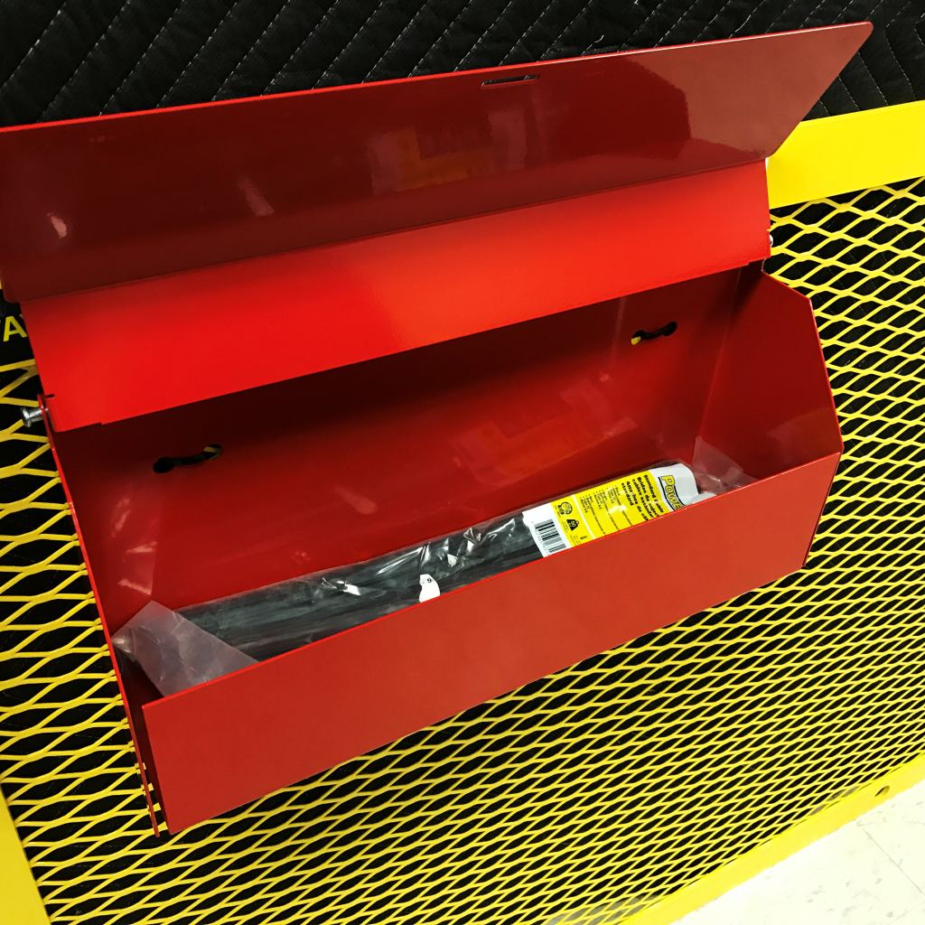 Cable Tie Caddy Open