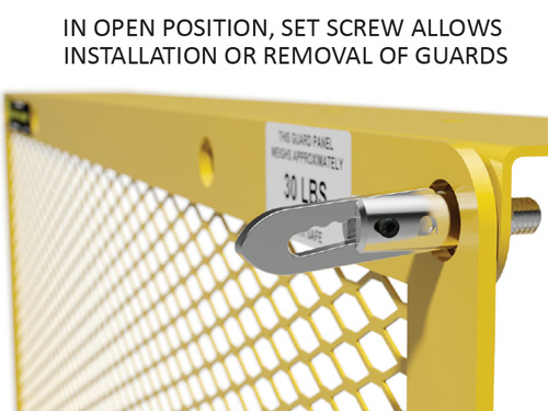 Locking Wedge Clamp Fully Open