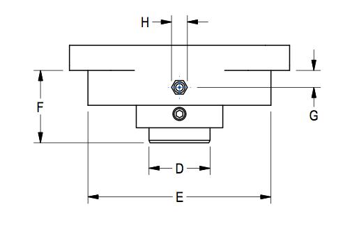 Flange Bearing Guard Diagram