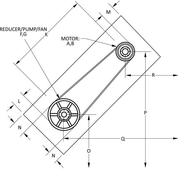 V-Belt Guard Diagram