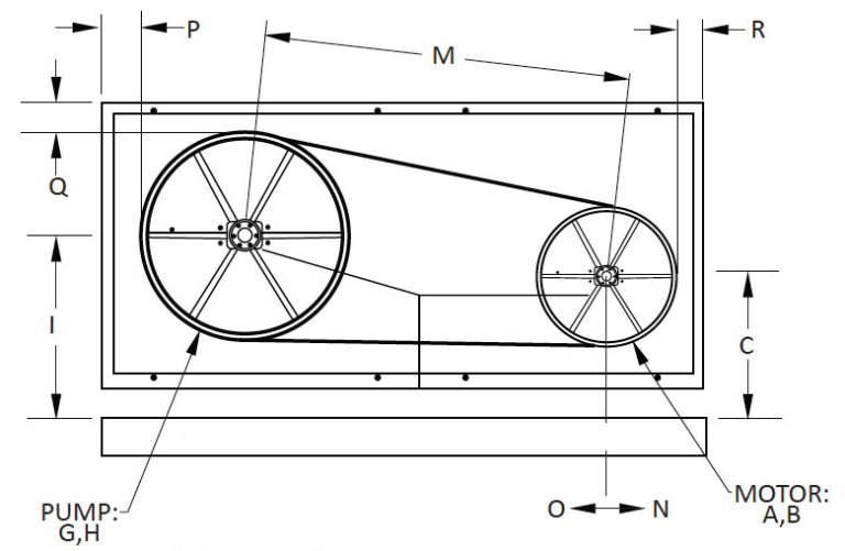 Upright Motor Diagram
