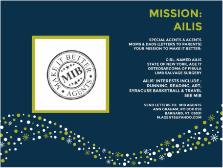 Ailis MIB Mission