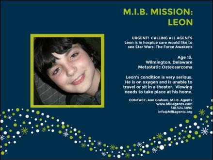 Leon MIB Missions