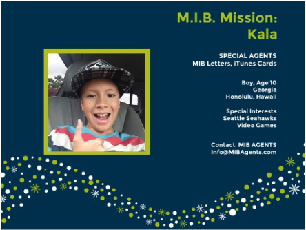 Kala MIB Mission