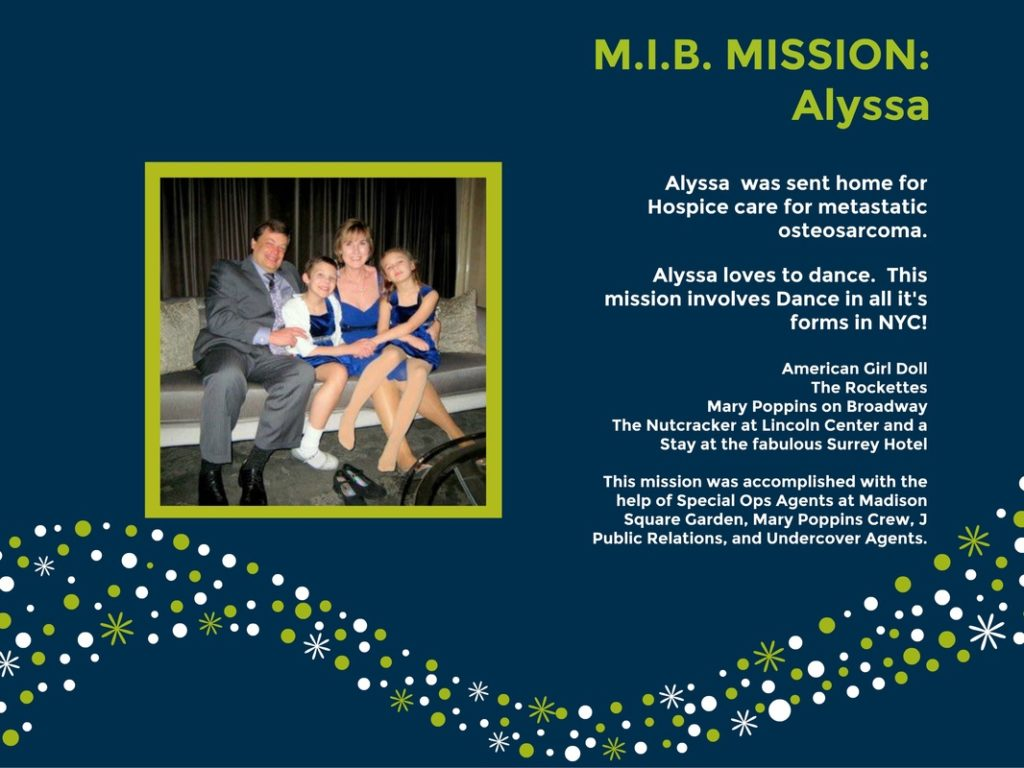 Alyssa MIB Mission