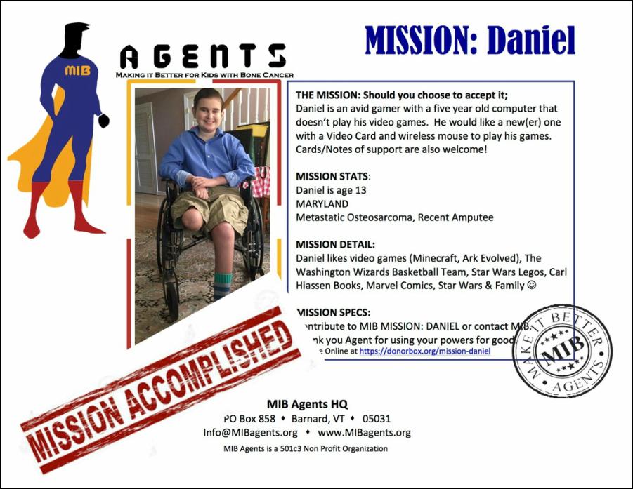 Daniel MIB Agents
