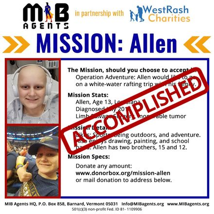 Allen MIB Mission