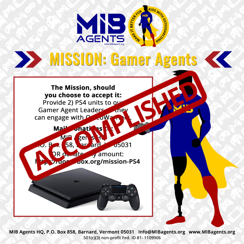 Gamer Agents MIB Missions