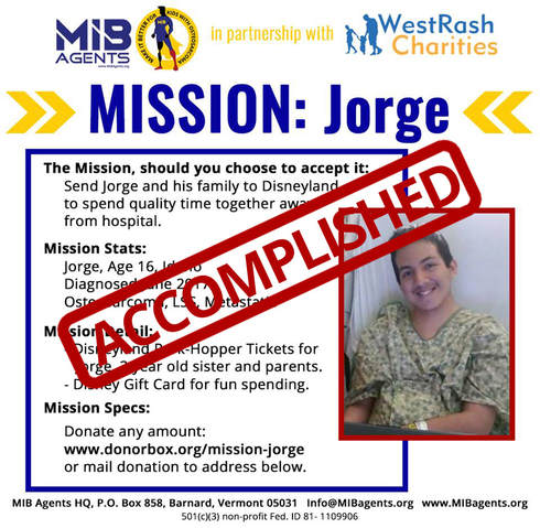 Jorge MIB Mission