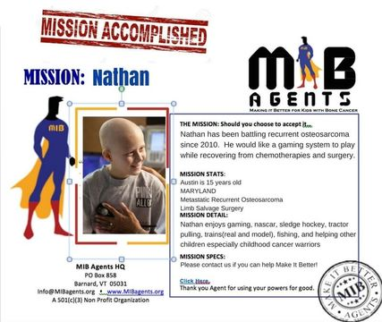 Nathan MIB Mission