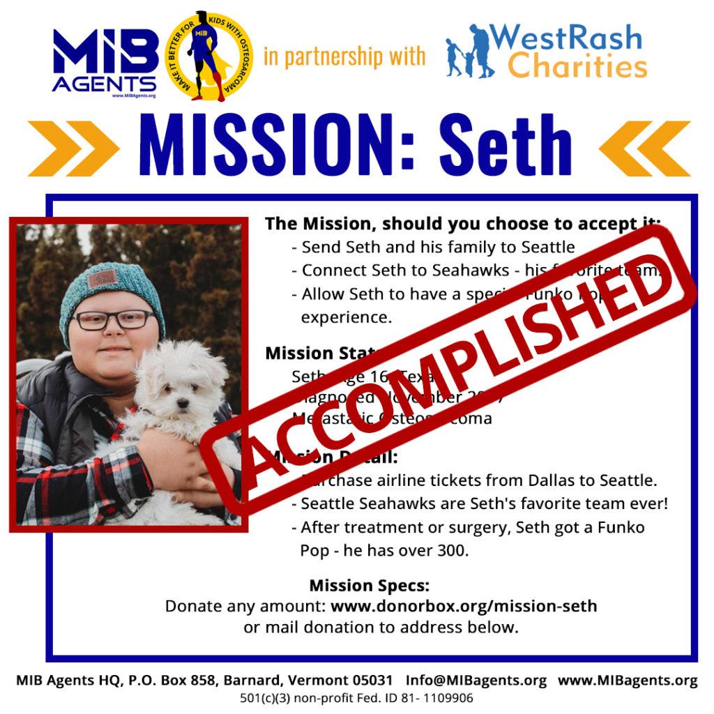 seth MIB Missions