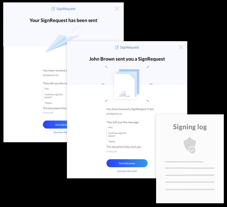E-signing log