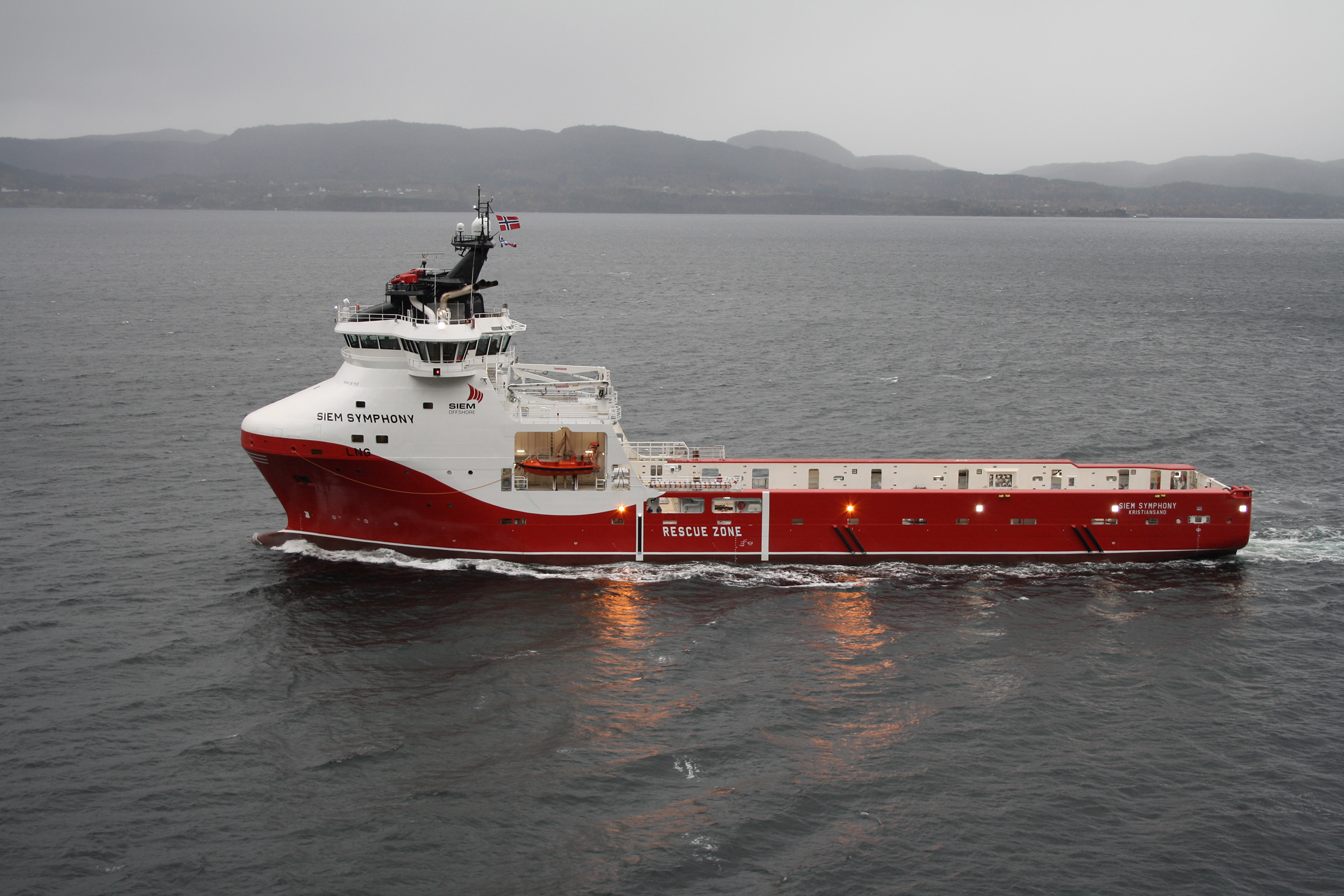 Siem Offshore's first hybrid vessel due in spring 2021