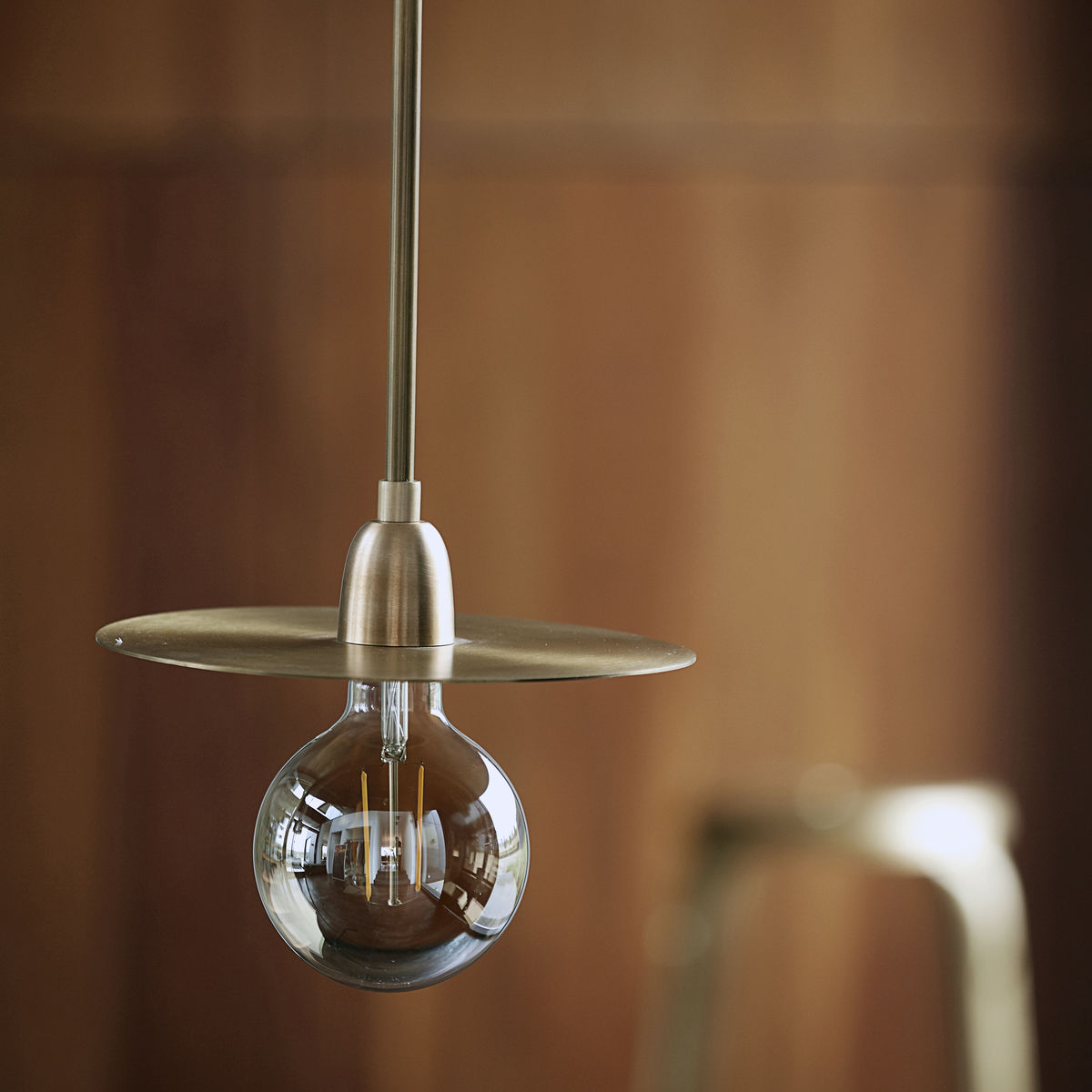 LP Lamp, Brass